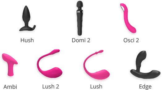 Lovense sextoy products